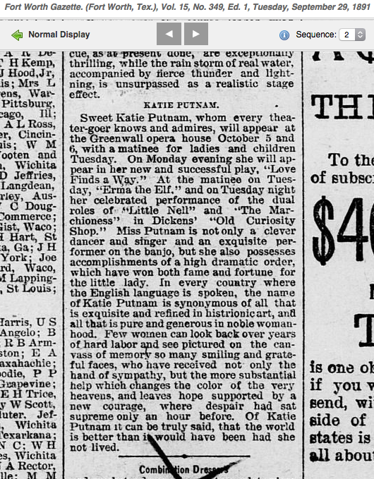 1891 glowing putnam article