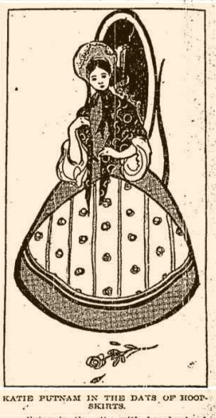 Katie Putnam caricature